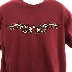 Harley Davidson Monterrey Mexico Graphic Tshirt Lg